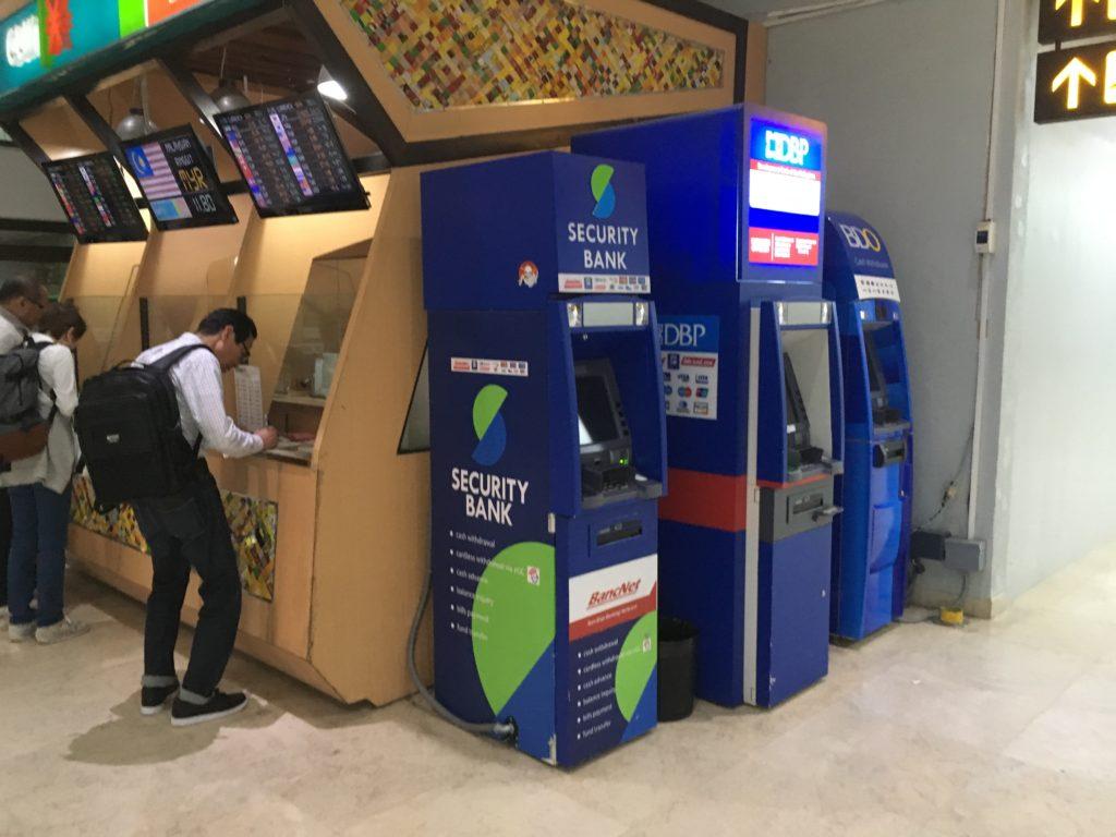 フィリピン・セブ島 キャッシング方法、ATMの使い方、現金の引き出し方について
